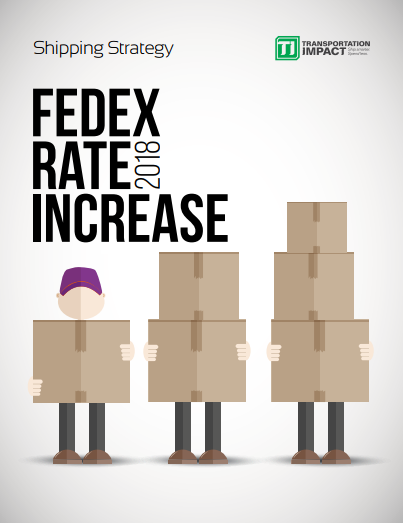 2018 FedEx Rate Increase Report